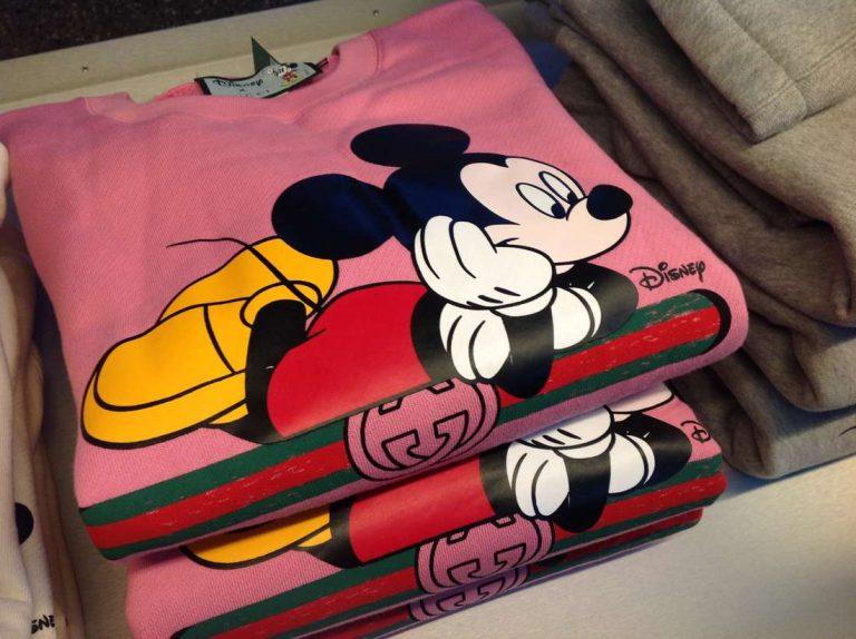 Капсульная коллекция с Микки и Gucci