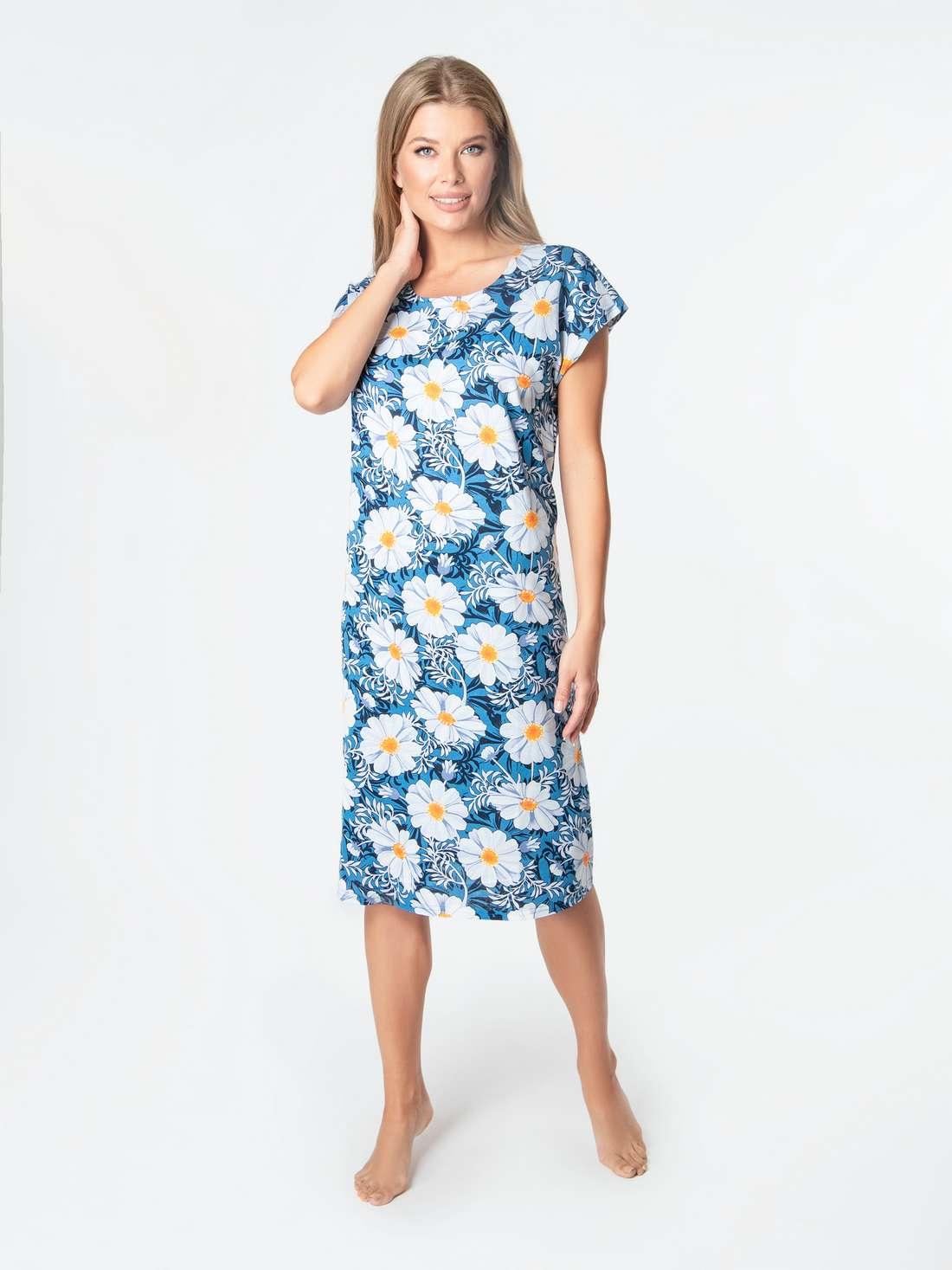 Домашнее платье больших размеров VISAVIS