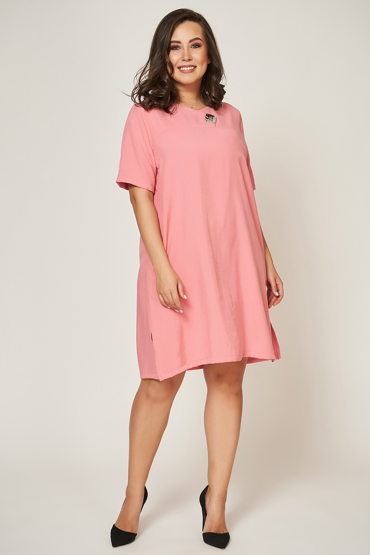 Летнее платье больших размеров OLSI