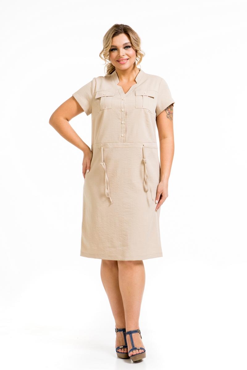 Летнее вискозное платье Novita