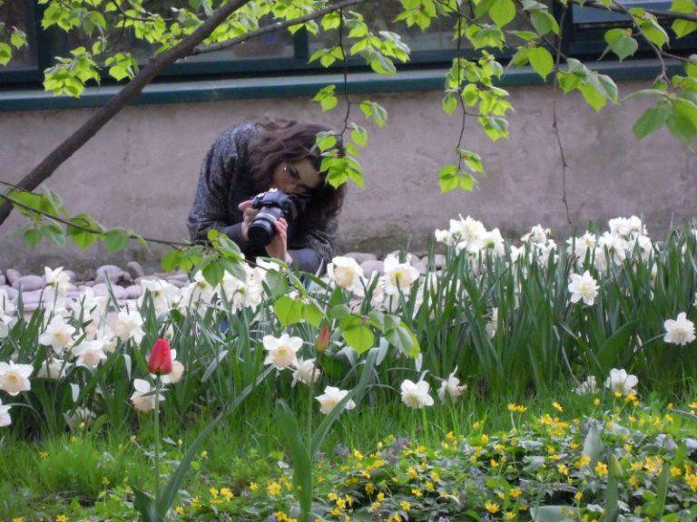 Фотосессия: цветочные принты