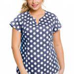 Модная блузка из хлопка Новита