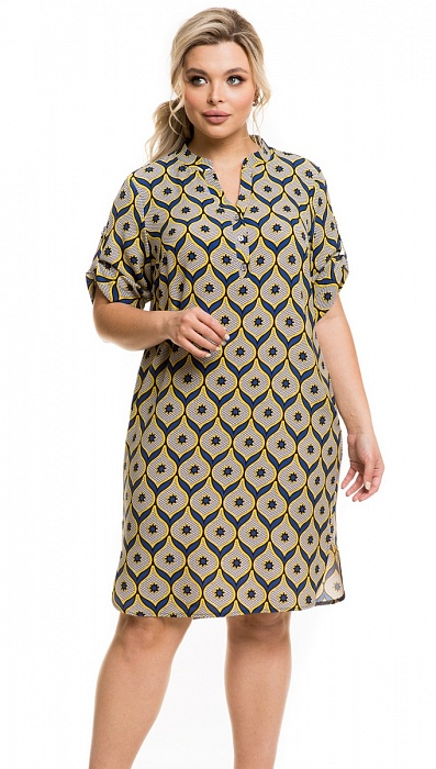 Нарядное летнее платье Новита