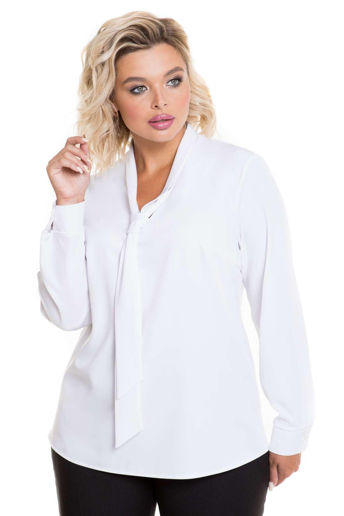 Блузка с воротником-бантом в стиле Коко Шанель,  жилет и другие новинки офисного стиля от Новита