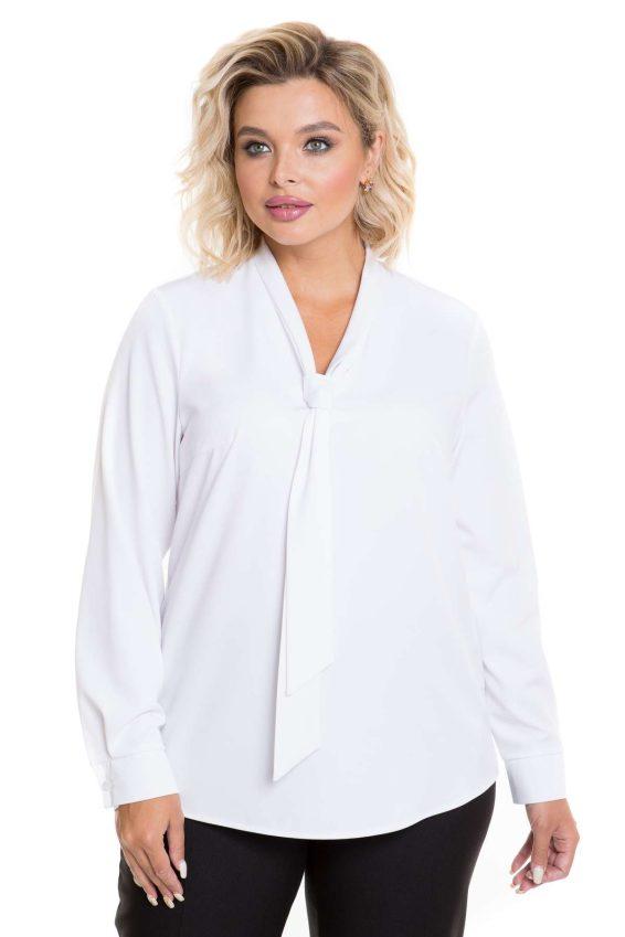 Белая блузка Новита