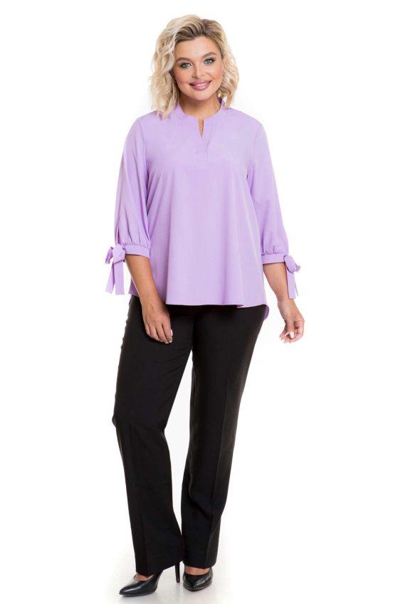 Красивая блузка лилового цвета Новита